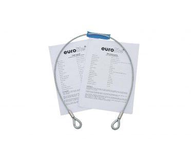 EUROLITE Safety Bond AG-5 3x600mm up to 5kg sil