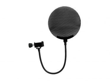 OMNITRONIC Microphone-Pop Filter metal