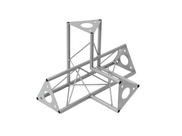 DECOTRUSS SAC-45 corner 4-way l+h silver