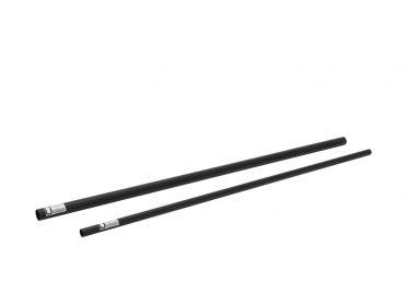ALUTRUSS Aluminium Tube 6082 50x2mm 2m black