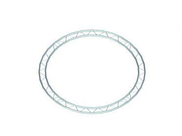 ALUTRUSS BILOCK Element f.Circle 1m(innen)hori.90°