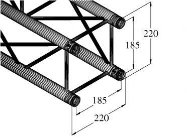 ALUTRUSS DECOLOCK DQ4-S750 4-Way Cross Beam bk