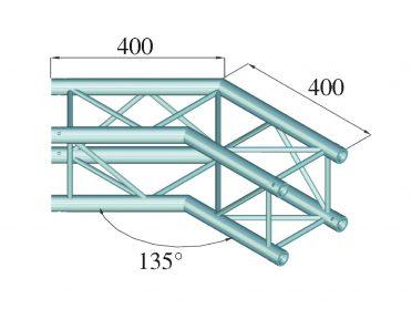 ALUTRUSS DECOLOCK DQ4-SPAC23 2-Way Corner 135° bk
