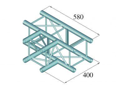 ALUTRUSS DECOLOCK DQ4-SPAT35 3-Way T-Piece 90° bk