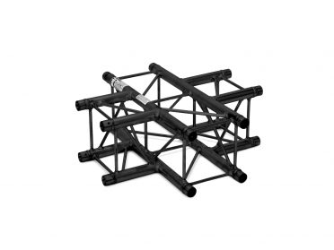 ALUTRUSS DECOLOCK DQ4-SPAC41 4-Way Cross Piece bk