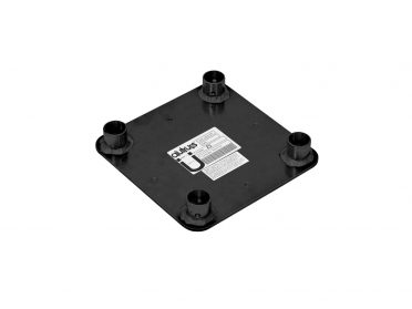 ALUTRUSS DECOLOCK DQ4-WP Wall Mounting Plate bk