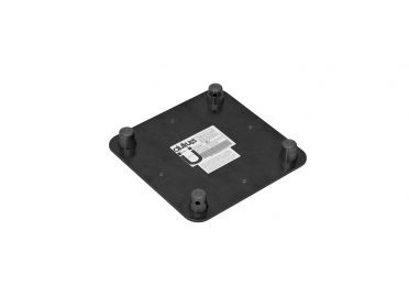 ALUTRUSS DECOLOCK DQ4-WPM Wall Mounting Plate MALE bk
