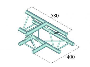 ALUTRUSS DECOLOCK DQ3-SPAT36 3-Way T-Piece 90° bk
