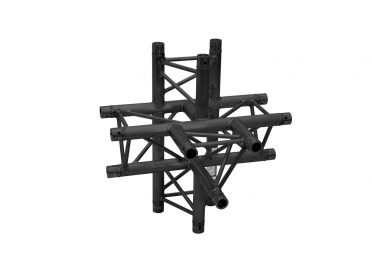 ALUTRUSS DECOLOCK DQ3-SPAT51 5-Way Piece / bk