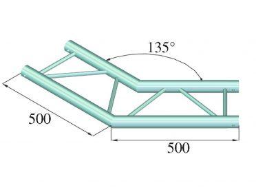 ALUTRUSS BILOCK E-GL22 C23-H 2-Way Corner 135°