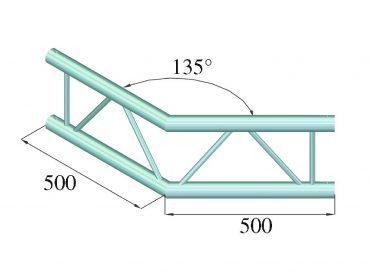 ALUTRUSS BILOCK E-GL22 C23-V 2-Way Corner 135°