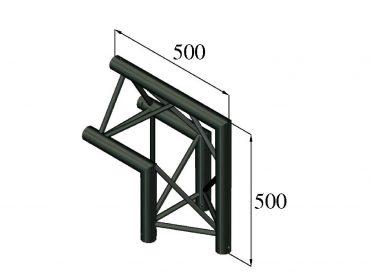 ALUTRUSS TRILOCK S-PAC 24 2-Way Corner 90°/ black