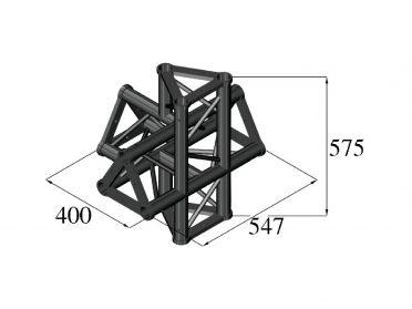 ALUTRUSS TRILOCK S-PAT-51 5-Way Piece /