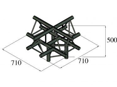 ALUTRUSS TRILOCK S-PAC-52 5-Way Piece /
