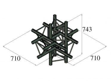 ALUTRUSS TRILOCK S-PAC-61 6-Way Piece