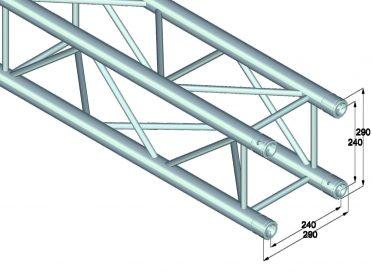 ALUTRUSS QUADLOCK QL-ET34-4500 4-way cross beam