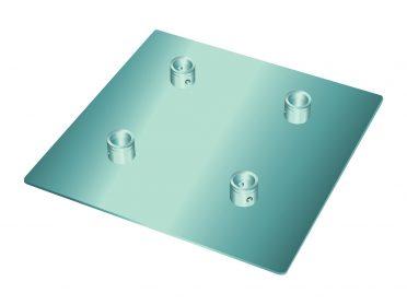 ALUTRUSS QUADLOCK QL-ET End Plate QQGP 50cm x 50cm