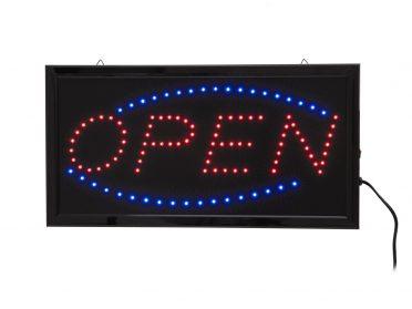 EUROLITE LED Sign OPEN classic