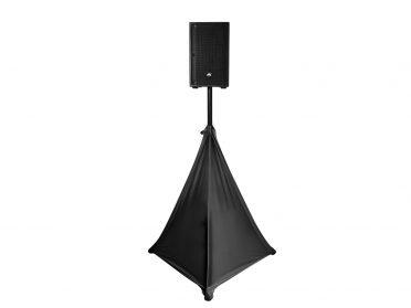 EUROLITE Tripod Cover black three-sides