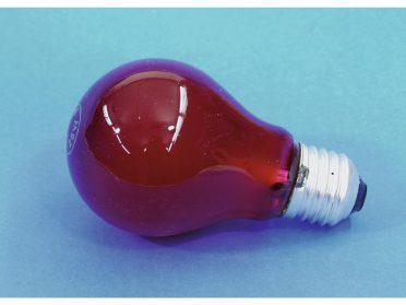 OMNILUX A19 230V/25W E-27 red