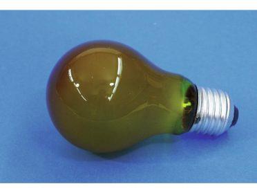OMNILUX A19 230V/25W E-27 yellow