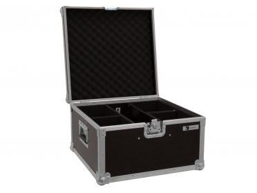 ROADINGER Flightcase 4x LED IP PAR 3x8W QCL/3x9W SCL