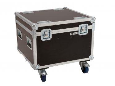 ROADINGER Flightcase 4x LED Theatre COB 100 series with wheels