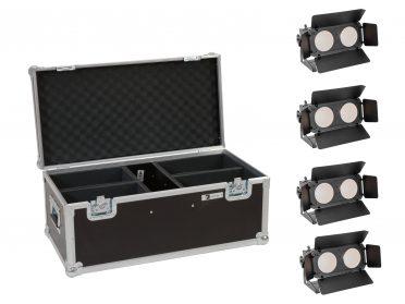 LED BAR fényeffekt szett EUROLITE Set 4x LED CBB-2 WW/CW Fairlight + Case