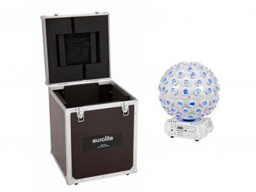 BEAM lézer fényeffekt + szállítóbőrönd EUROLITE Set LED B-40 Laser Beam Effect white + Case