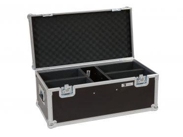 BAR fényeffekt szett szállítóláda ROADINGER Flightcase 4x LED CBB-2WW/CW fairlight