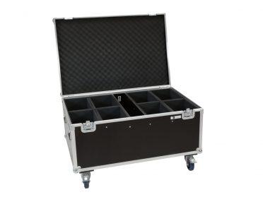 Gurulós szállítóláda kültéri spotlámpához ROADINGER Flightcase 8x LED IP PAR 12x8W QCL/12x9 SQL Spot with wheels