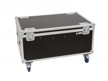 ROADINGER Flightcase 8x LED IP PAR 12x8W QCL/12x9 SQL Spot with wheels