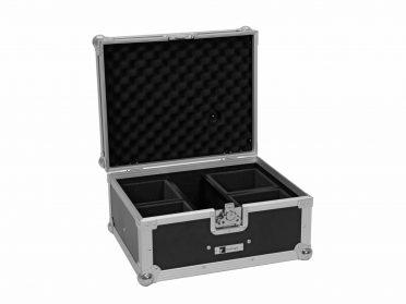 Szállítóbox akkumulátoros UP spotlámpákhoz ROADINGER Flightcase EC-AU4 4x AKKU UP 4 QCL Spot QuickDMX