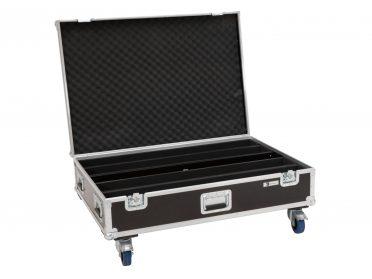 Szállítóbox LED BAR fényeffekthez ROADINGER Flightcase 4x LED IP T-PIX 8 QCL/T-PIX 12 HCL with wheels