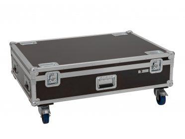 ROADINGER Flightcase 4x LED IP T-PIX 8 QCL/T-PIX 12 HCL with wheels